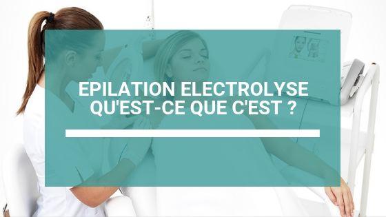 epilation electrolyse